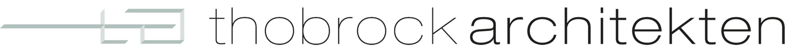 Logo Thobrock Architekten Köln Mülheim